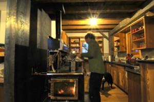 Kitchen in the OPUS Hut