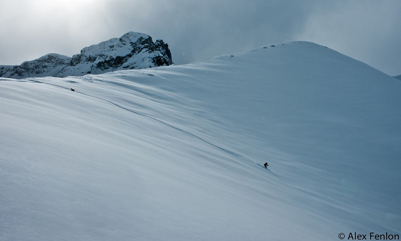 Backcountry Skiing Ophir Pass