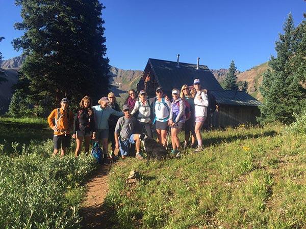 Summer hiking colorado