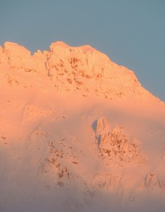 Lookout Alpenglow